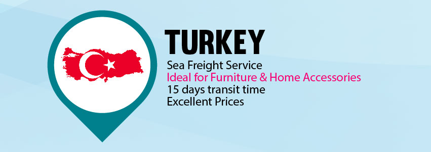 iShip.me services from Turkey